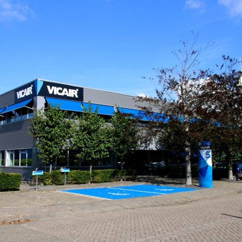 Vicair wheelchair cushions Offices Wormer The Netherlands