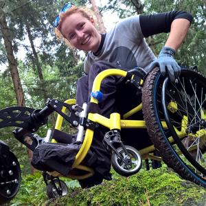 Wheelchair cushion Vector O2 Vicair user story Nienke