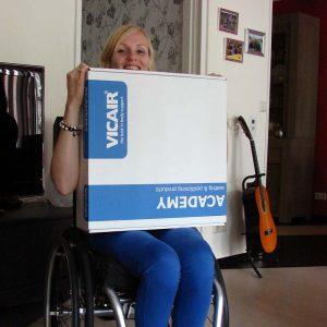 User story Jolanda Vosse - Vicair Active wheelhcair cushion