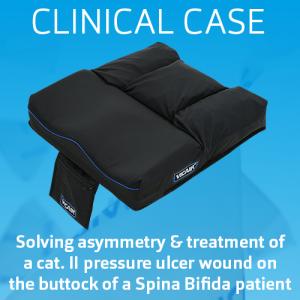 clinical case wheelchair cushion vicair active