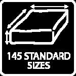 wheelchair cushion 145 standard sizes Vicair O2