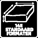 Vicair O2 rolstoelkussens 145 standaardmaten