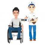Probeer gratis en vrijblijvend een Vicair rolstoelkussen
