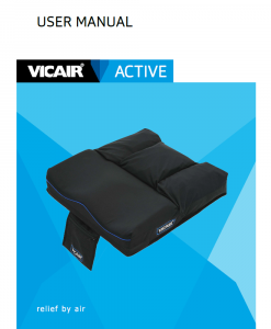 Vicair-Active-wheelchair-cushion-manual-2017