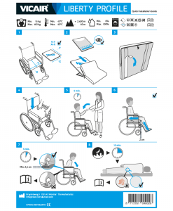 Vicair-Liberty-Profile-wheelchair-cushion-quick-installation-guide