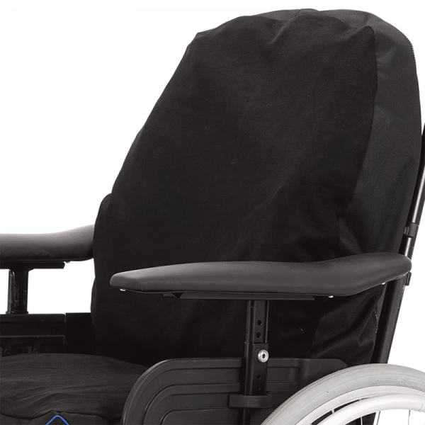 Wheelchair back support cushion Vicair Multifunctional with cover in wheelchair