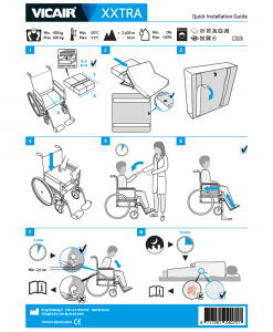 Vicair-XXtra-bariatric-wheelchair-cushion-quick-installation-guide