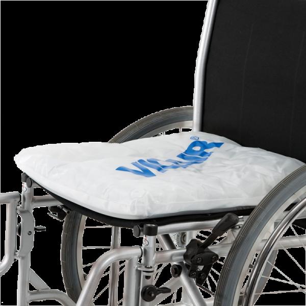 Wheelchair cushion Vicair Liberty Profile on wheelchair