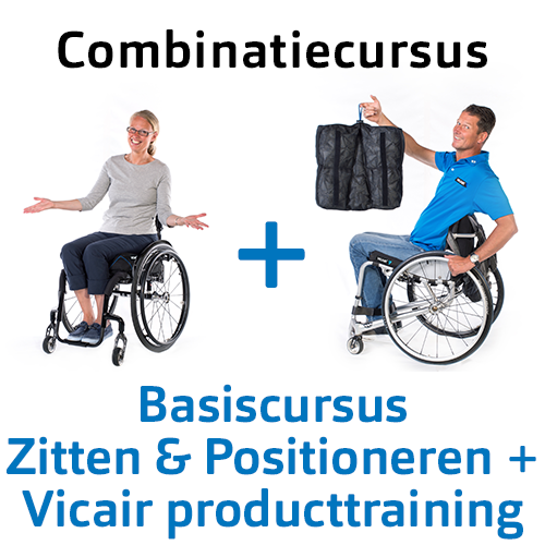 Educatie Vicair cursus Zitten & Positioneren en Producttraining