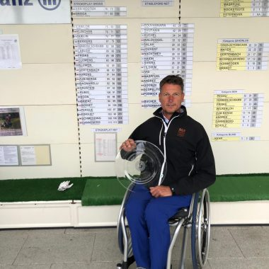 Jurgen Boon German Disabled Open golf championship 2019