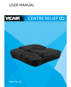 Vicair Centre Relief O2 user manual 1000x1000