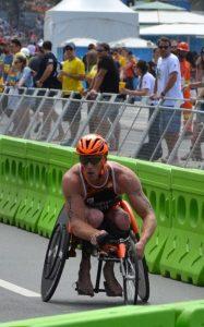 Pro Paratriathlete Geert Schipper