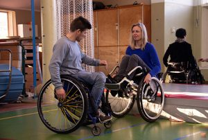 Kees-Jan -Vicair Active O2 - testimonial - user story - wheelchair skills event