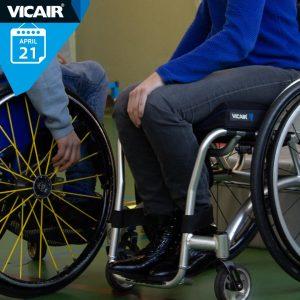 Cursus zitten en positioneren bij Vicair 21 april 2020