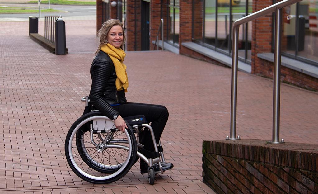 Cojín para silla de ruedas Vicair