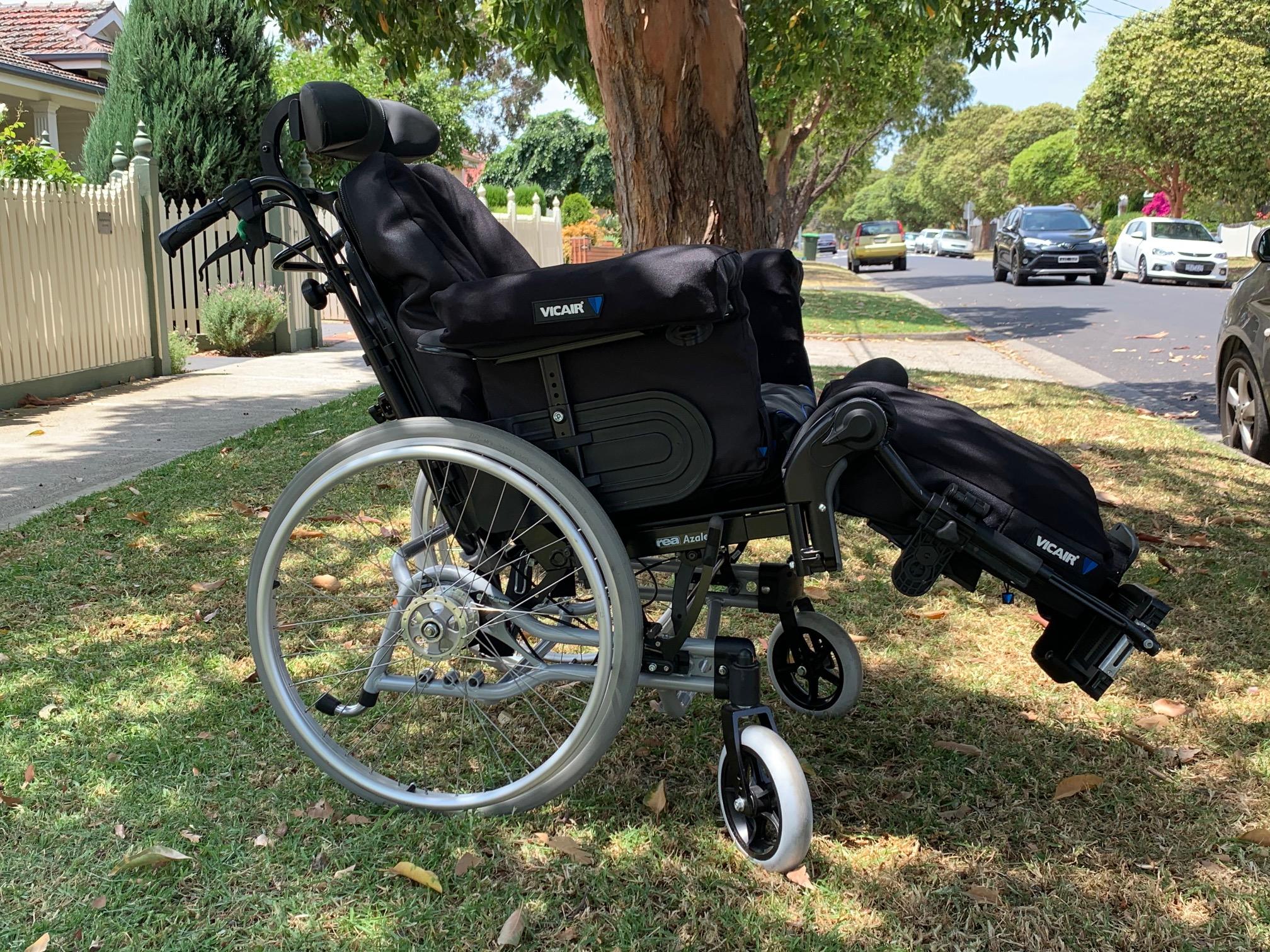 Vicair Overlay Wheelchair