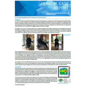 Vicair Clinical Case Report - Accommodating differences in mass with a Vicair Vector O2