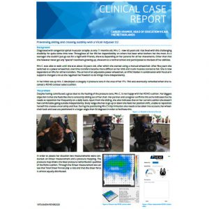 Vicair Clinical Case Report - Preventing and creating stability with a Vicair Adjuster O2
